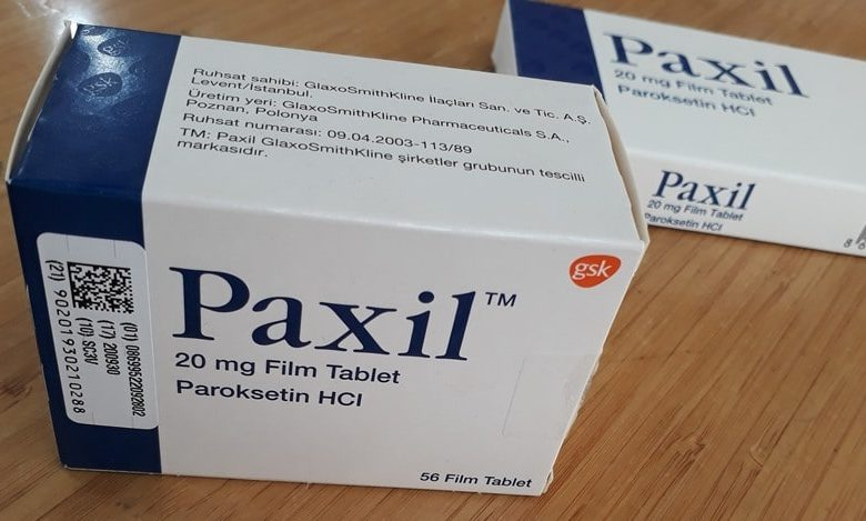 Paxil 20 mg